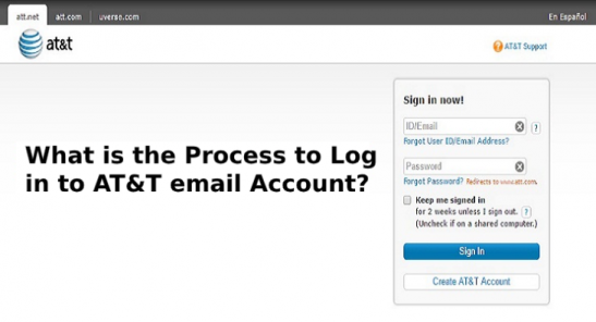 What is the Process to Log in to AT&T email Account