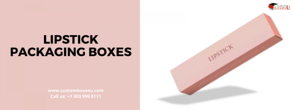 Lipstick packaging boxes inUSA