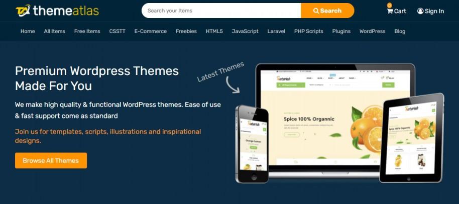 top premium wordpress themes