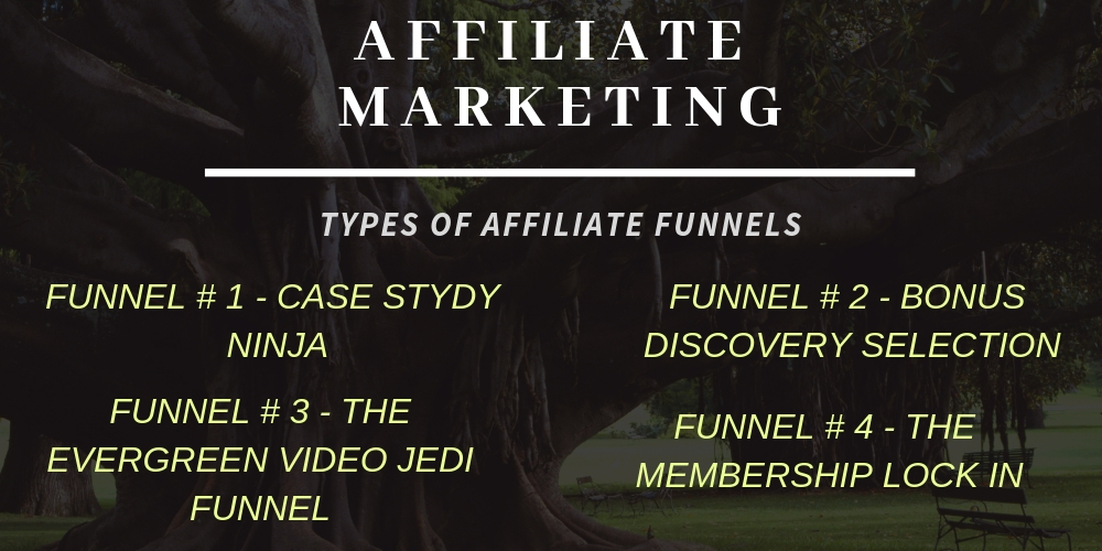 Types of AFFILIATE FUNNELS