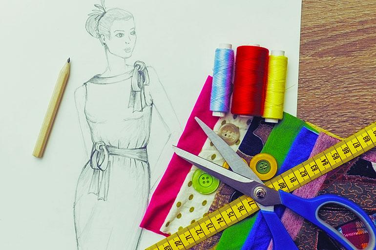 Fashion-designing