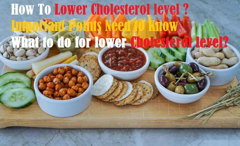 Cholesterol level