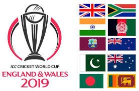 ICC Cricket World Cup 2019 Schedule , Fixtures