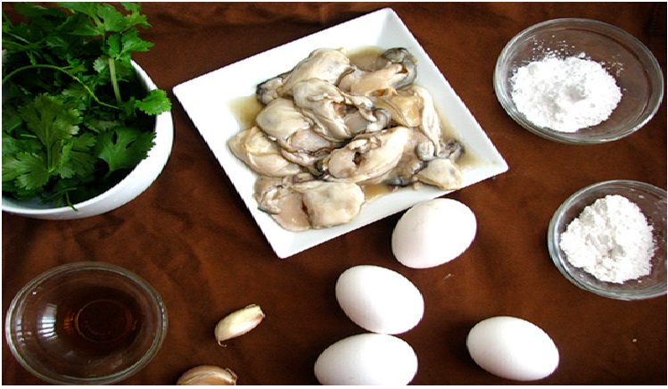 Recipe of Oyster Omelets