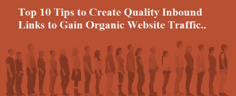 Inbound Links to Gain Website Traffic