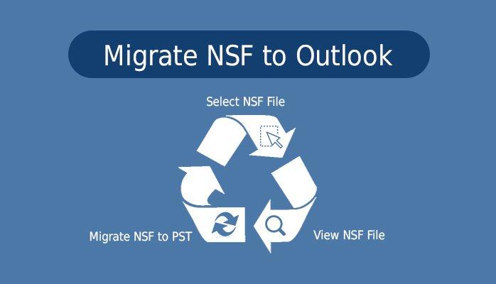 error free NSF to PST conversion