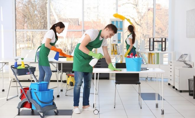 Commercial cleaning New Jersey