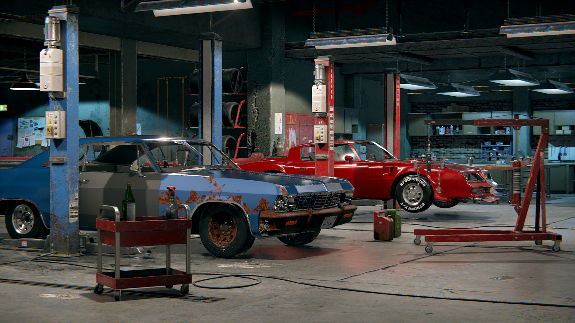 Car Garage in Abu Dhabi