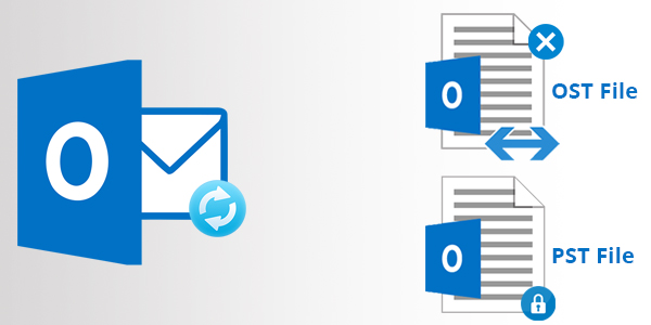 outlook ost pst file