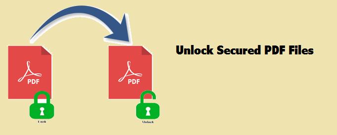 adobe pdf unlock secured document, unlock protected pdf