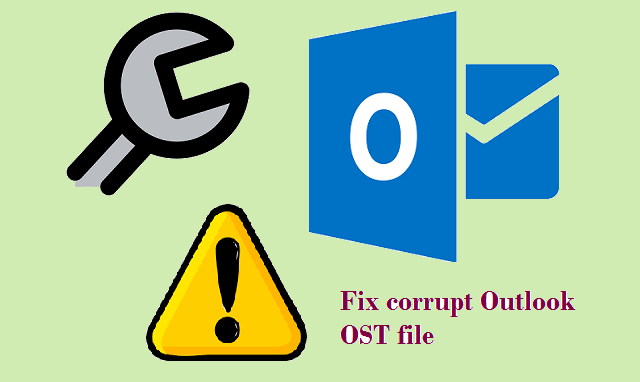 Restore OST file to Outlook PST