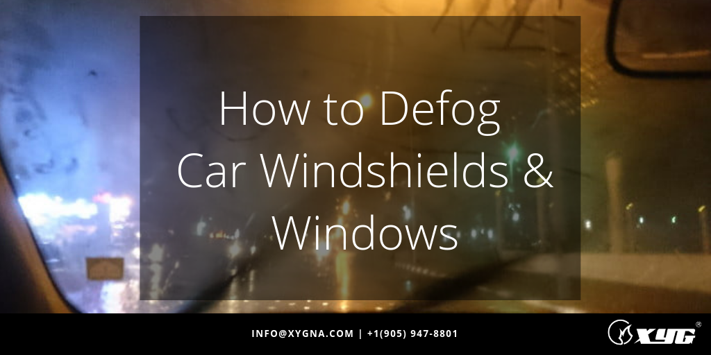 How to Quickly Defog Your Car Windshield and Windows