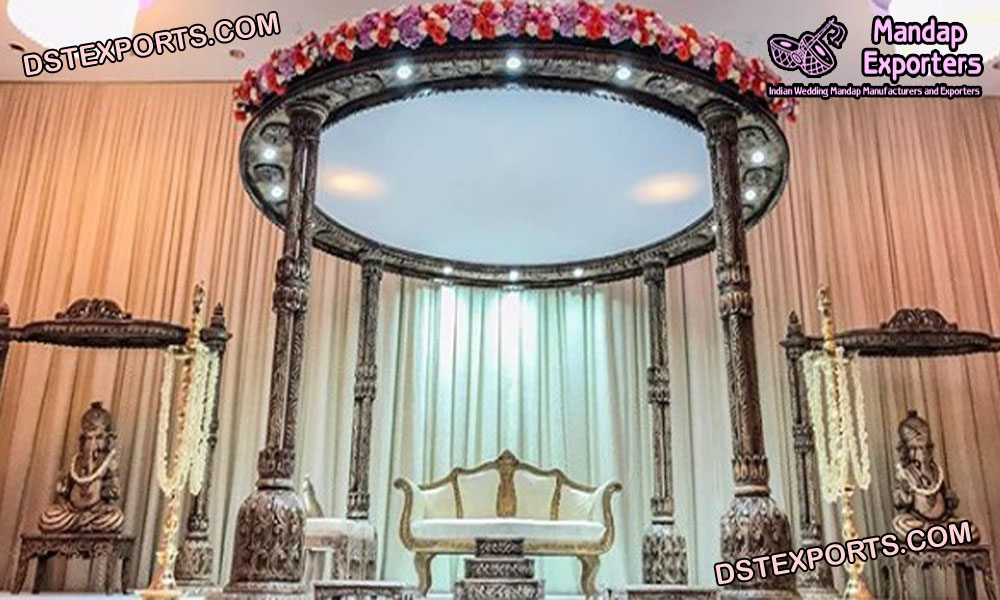 Wedding Wooden Mandap