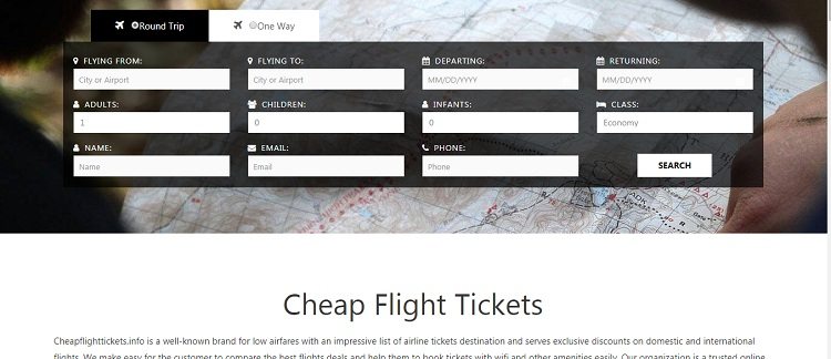 Cheap Airline Flight Tickets