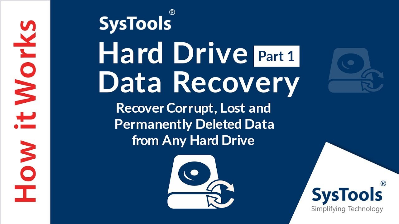 recover erased files from hard drive