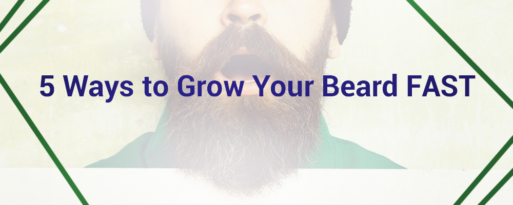 5 Ways to Grow Your Beard FAST - Muuchstac