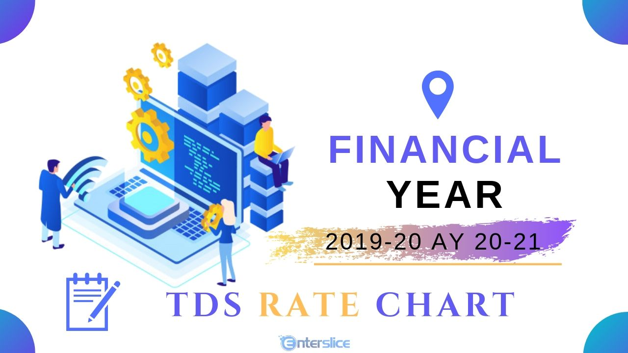 TDS Rate Chart Financial year 2019-20