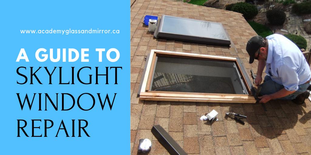 window glass repair signs