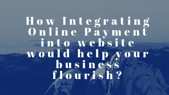 Integrated Online Payment into Website