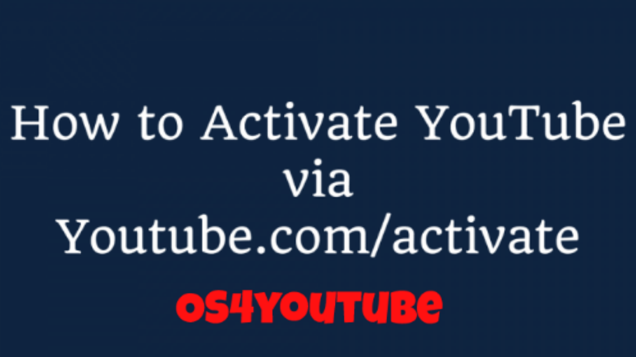 youtube.com/activate