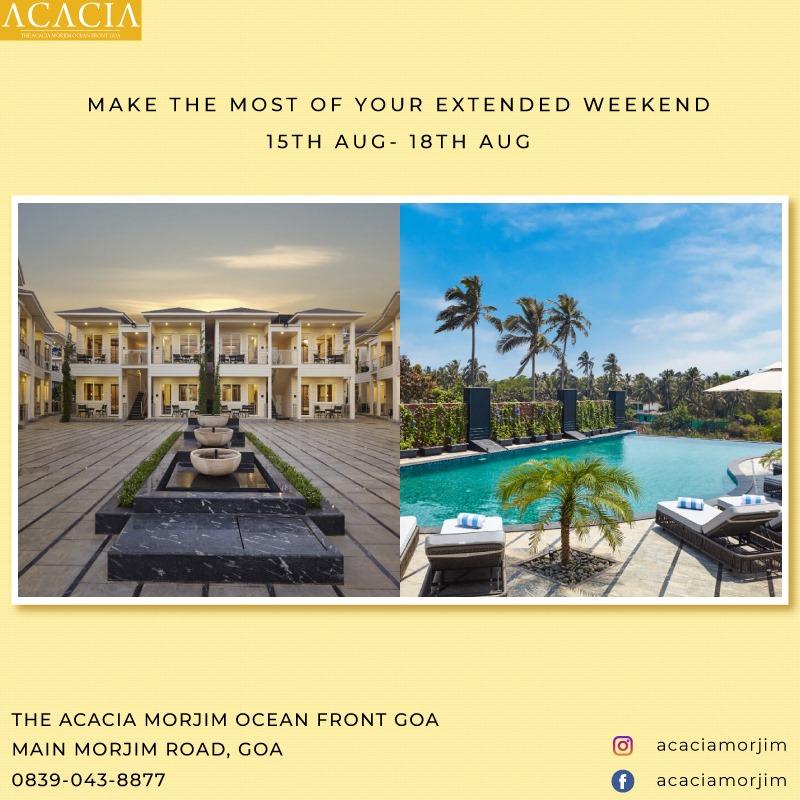 Resorts In Morjim Goa