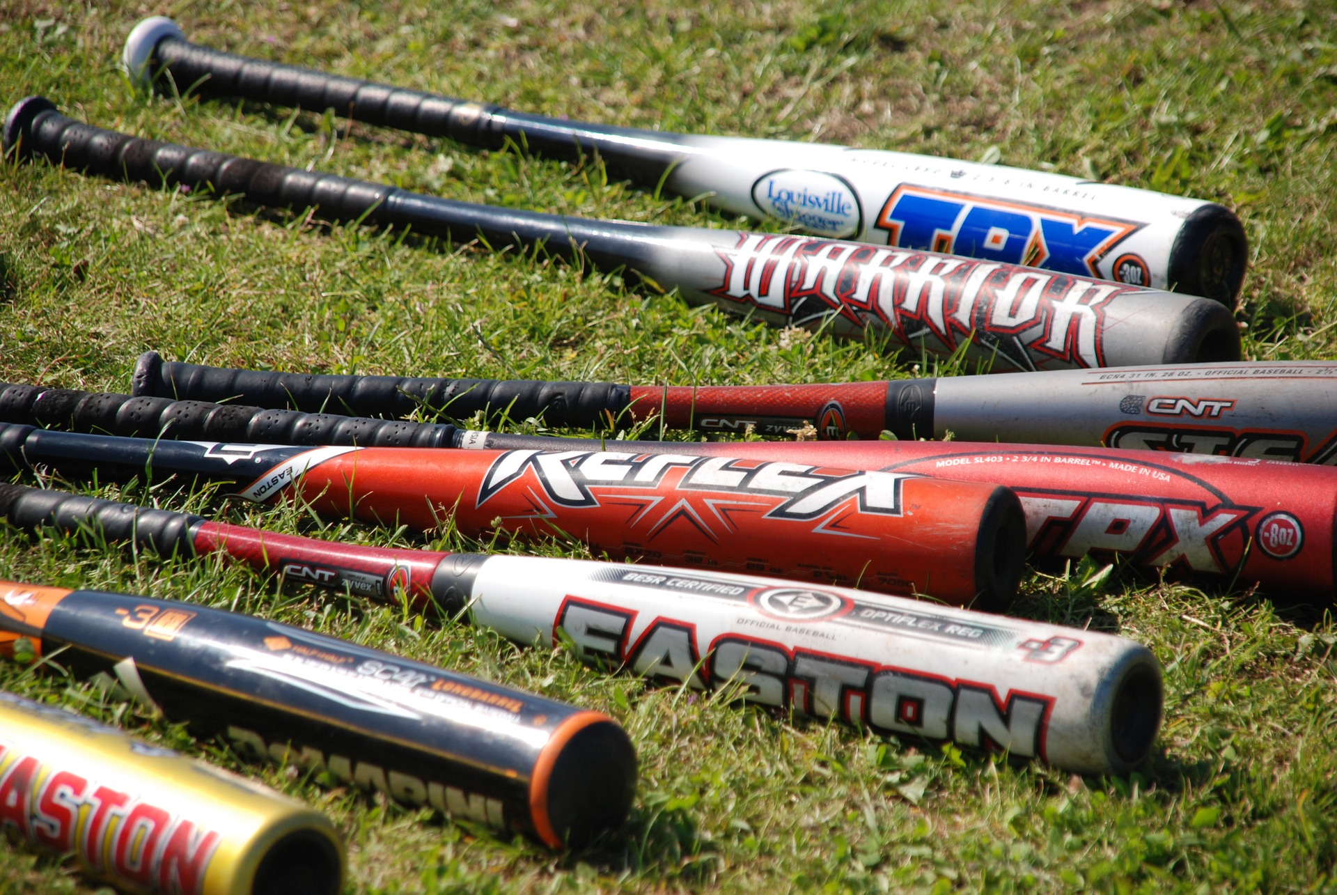 What are metal baseball bats made of?