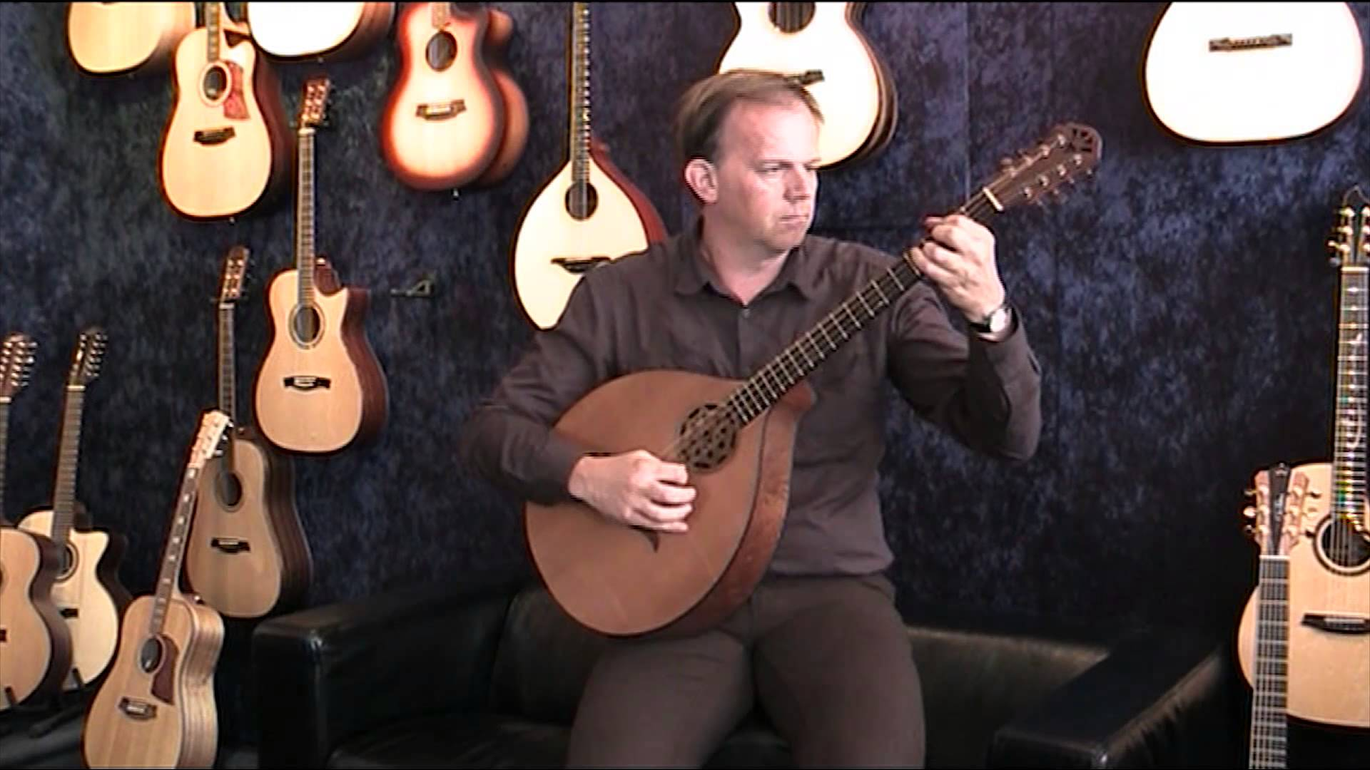 What is a bouzouki instrument