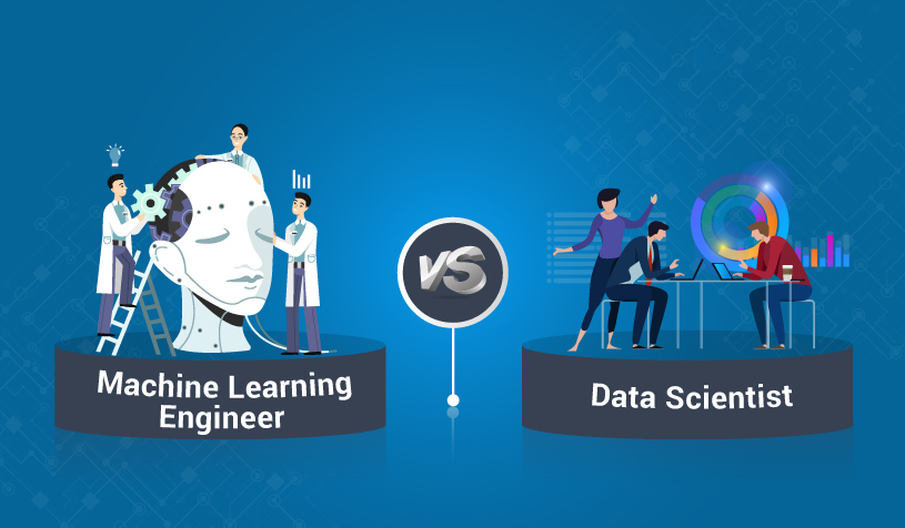 data scientist and machine learning engineer