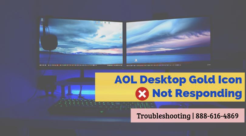 AOL Desktop Gold Icon not Responding