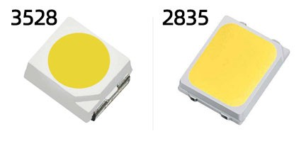 3528 and 2835 SMD LED