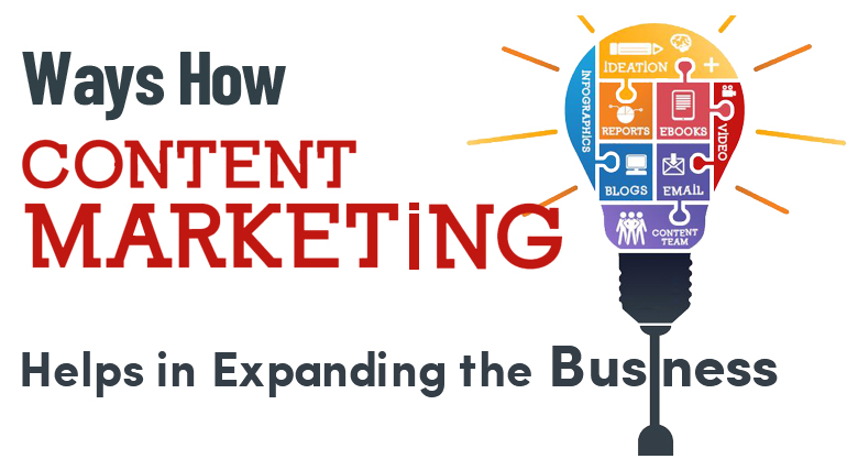 How Content Marketing helps in Expanding the Business