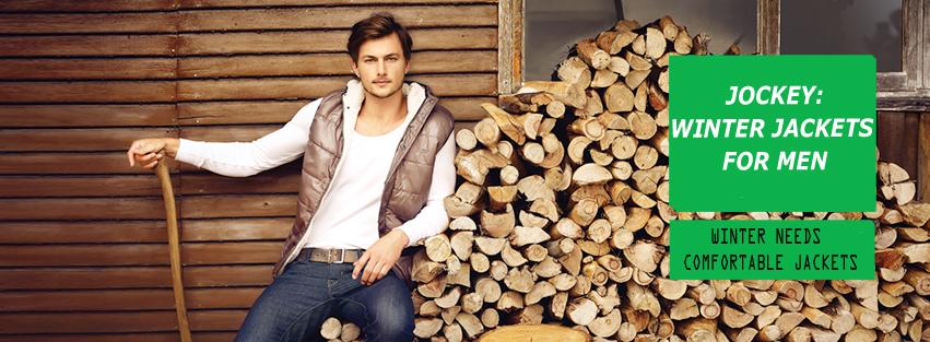 Jockey Winter Jackets for Men: Winter Needs Comfortable Jackets