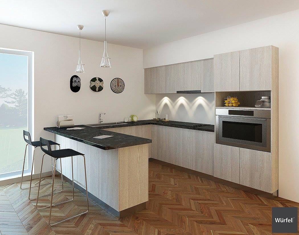 Kitchen designed by Wurfel