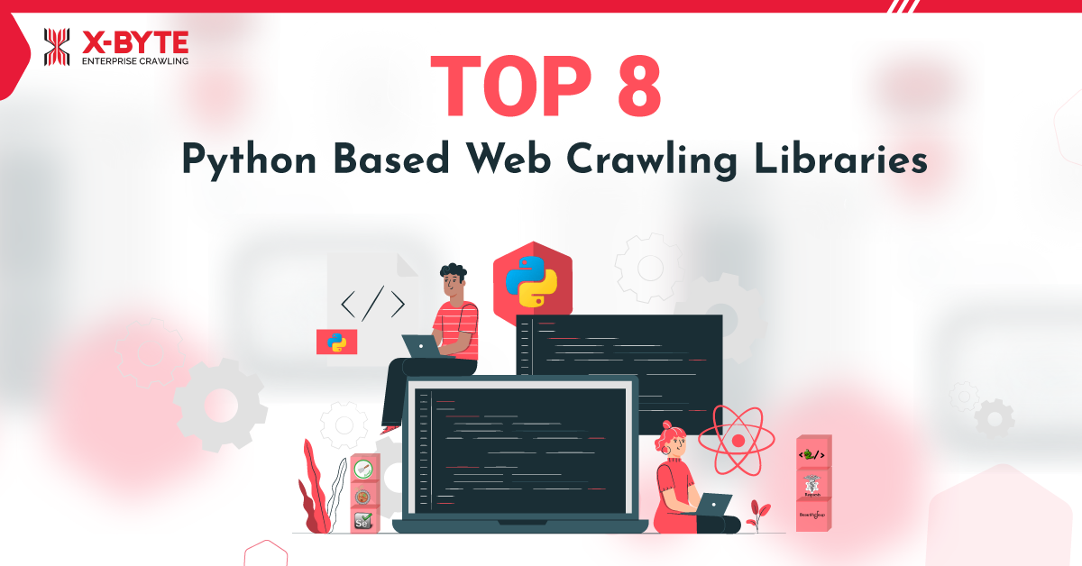 Python Based Web Crawling and Scraping Libraries Image
