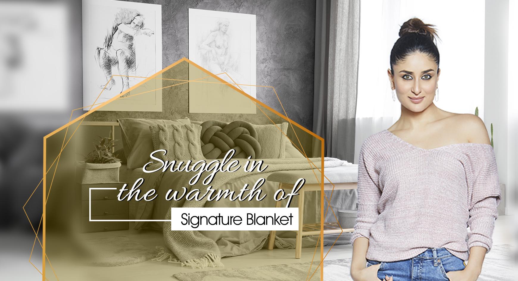 Kareena Kapoor : Signature Blanket TVC Ad || Haldi, Mehndi & Shaadi Songs (2019)
