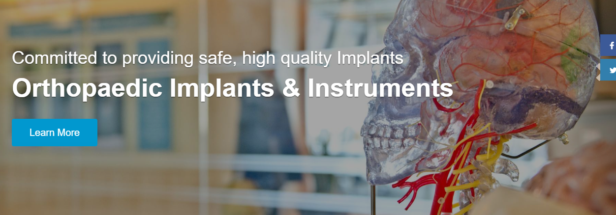 Orthopedic Implants Equipment Manufacturers
