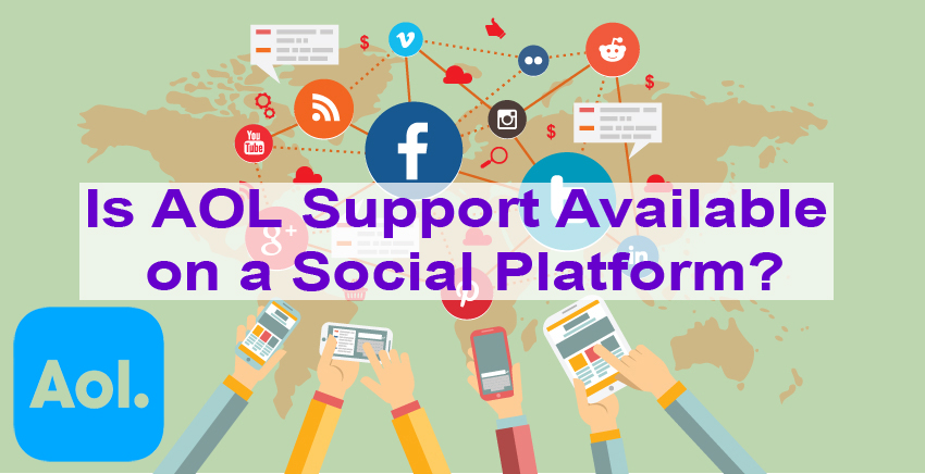 Is AOL Support Available on a Social Platform?
