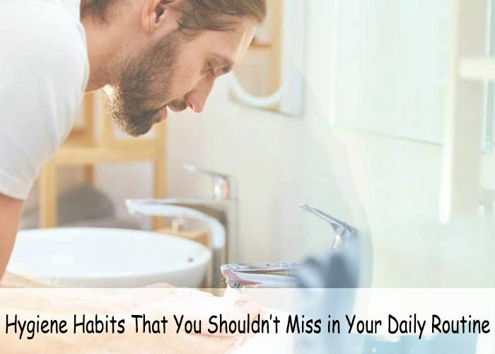 Mans Hygiene Habits