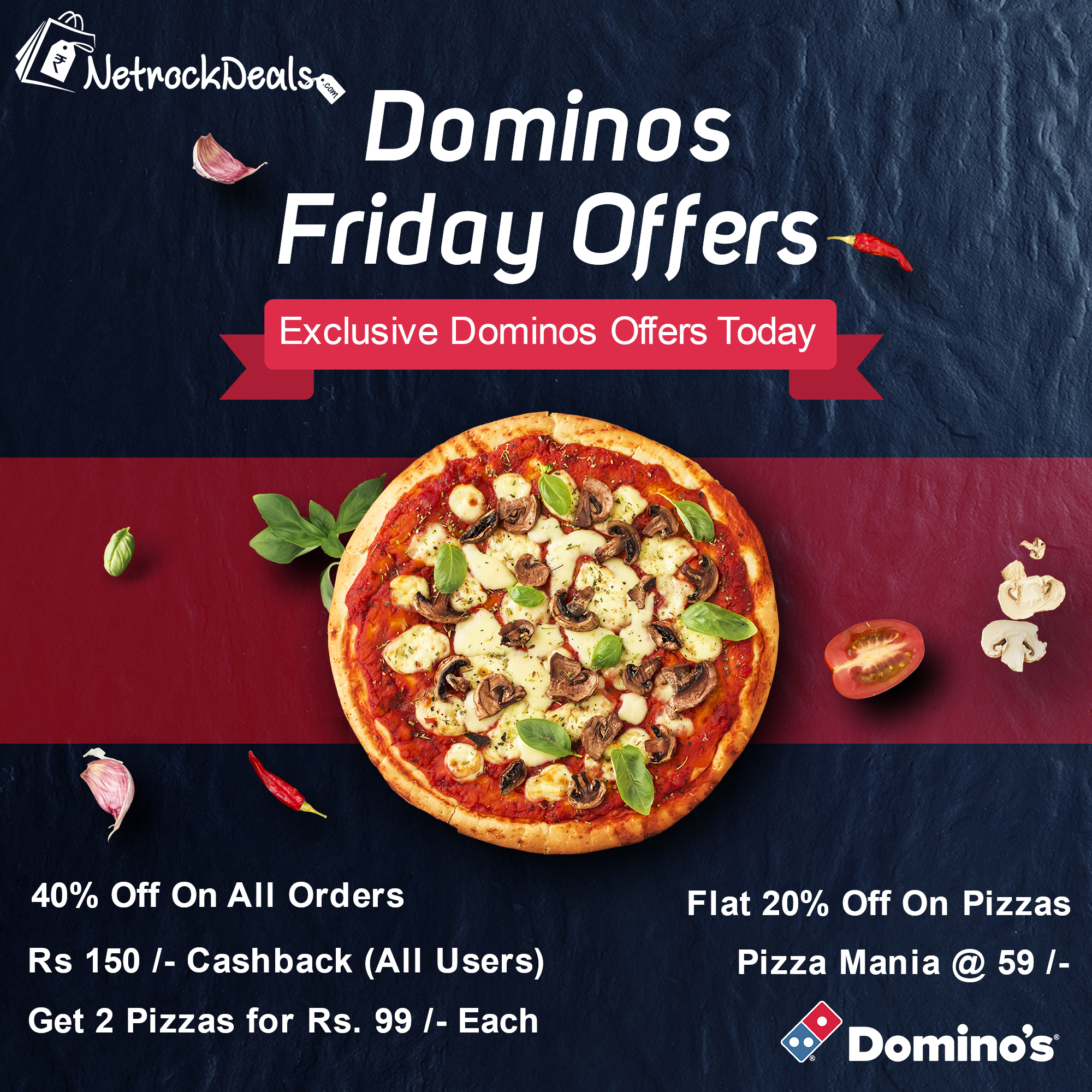 Dominos friday offers