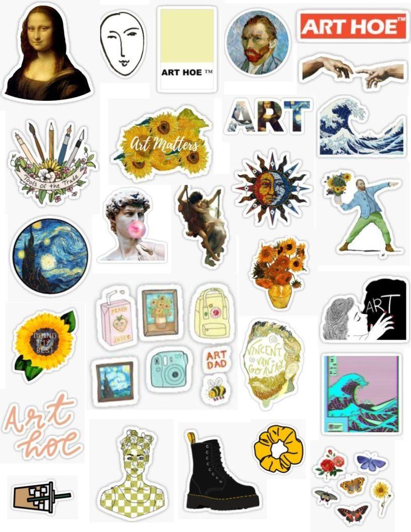 custom art sticker
