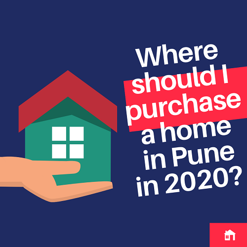 Where should I purchase a home in Pune in 2020?