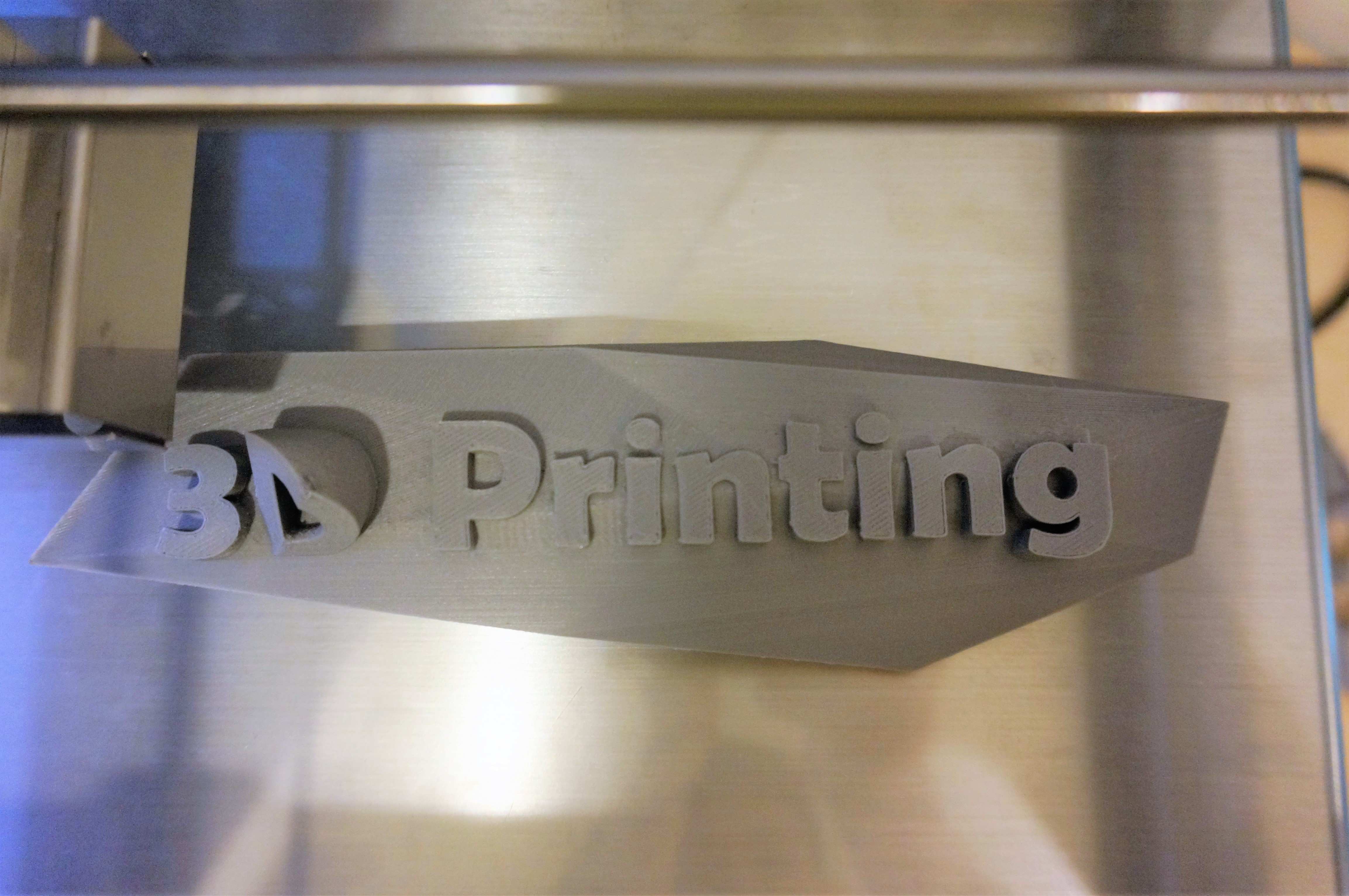 3D Printed Signage Board