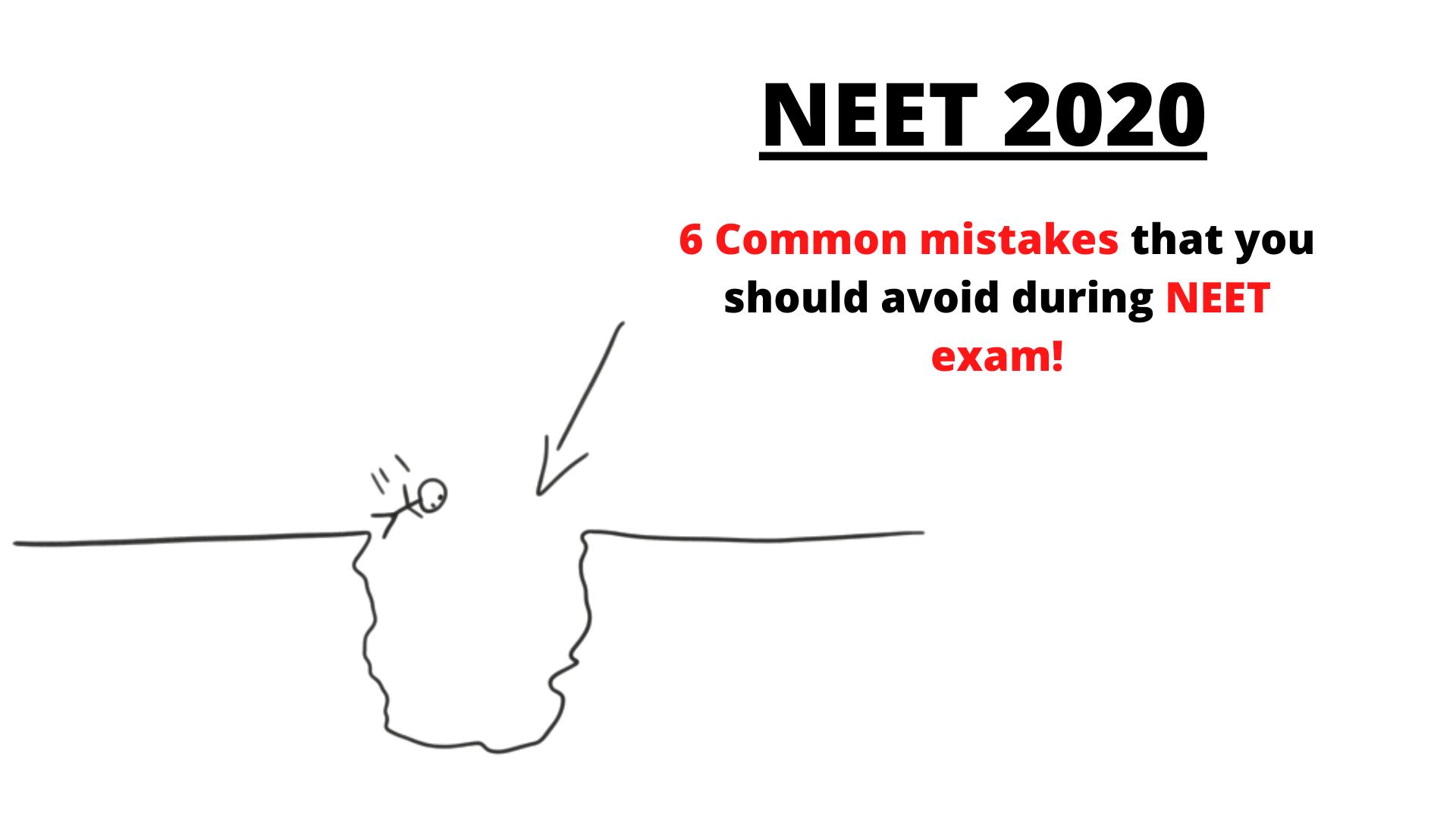 neet mistakes