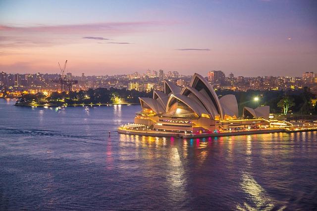 Sydney Opera House - Australia Immigration