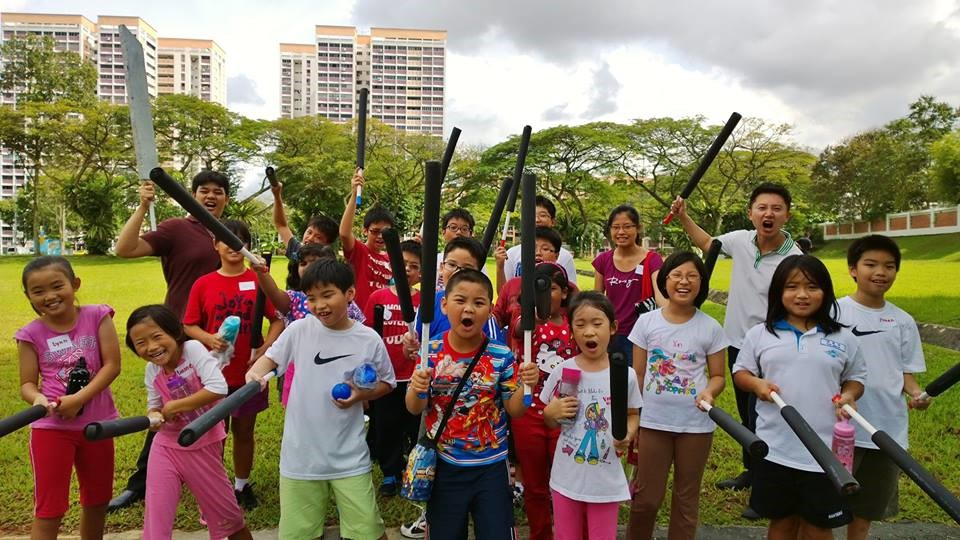 children holiday camp in Singapore, public speaking
