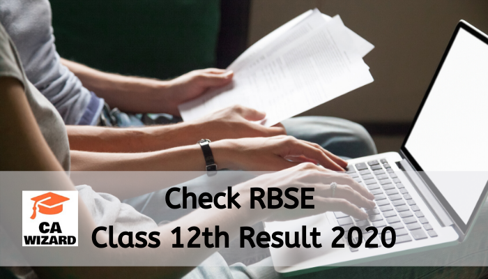 RBSE Class 12th Result 2020