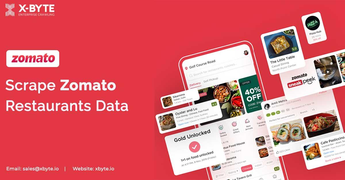 Scrape Zomato Restaurants Data