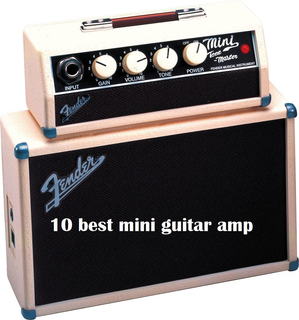 Best small guitar amplifier