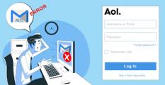 aol mail login problems