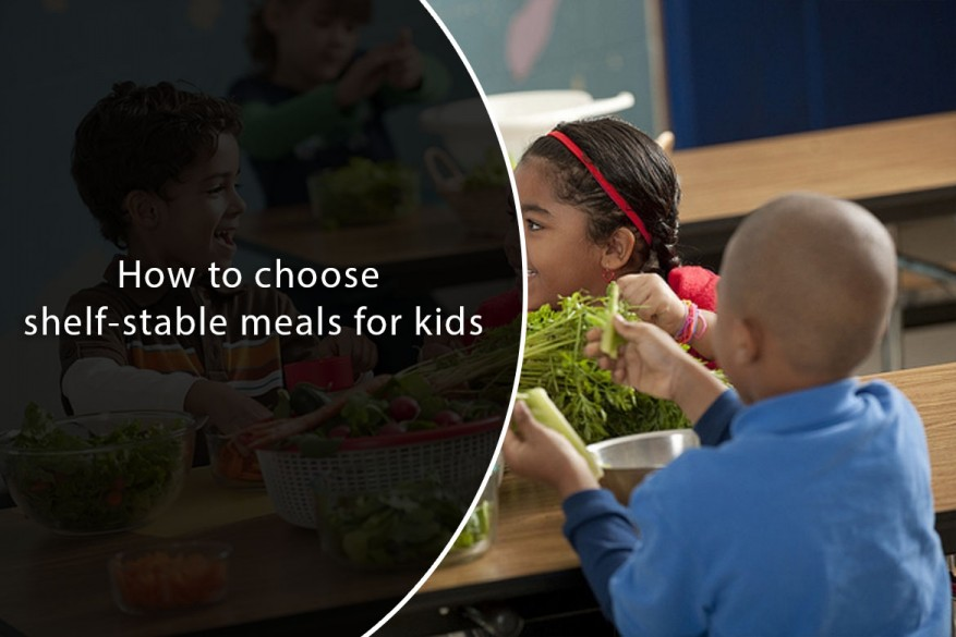 Shelf Stable Meals for Kids